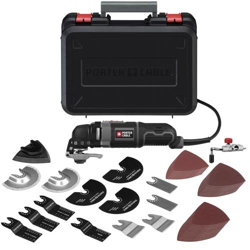 6. PORTER-CABLE 3-Amp Oscillating Multi-Tool Kit