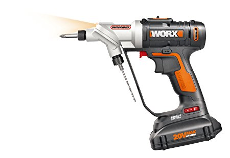 3. WORX Switchdriver 2-in-1 Cordless Drill and Driver