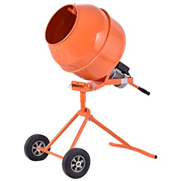 3. Goplus 1/2HP Electric Cement Mixer