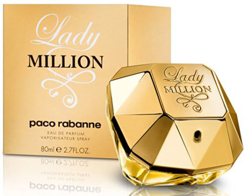 7. Lady Million by Paco Rabanne Eau De Parfum Spray for Women