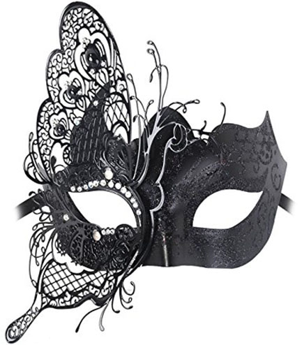 6. Coxeer Princess Dance Mask