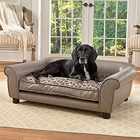 Enchanted Home Pet Rockwell Pet Sofa.