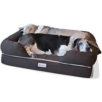 4. PetFusion Ultimate Pet Bed & Lounge in premium Edition