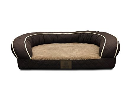 2. American Kennel Club AKC1852BROWN Orthopedic Sofa Bed Quilted.