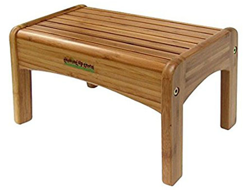 5. Growing Up Green Bamboo Step Stool