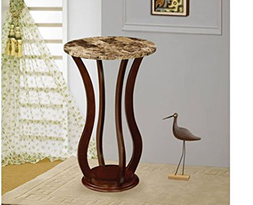 6. Coaster Home Furnishings 900926 Transitional Accent Table, Cherry