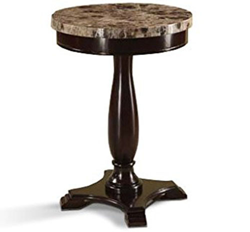 8. Round Pedestal Table by H-M Shop