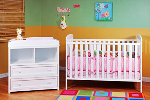 Athena Leila 2 Piece Nursery Set