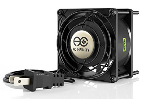 2. AC Infinity AXIAL 8038, Muffin Cooling Fan,