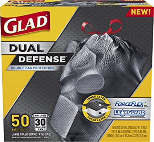5. Glad Dual Defense