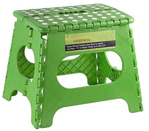 8. Greenco Super Strong Foldable Step Stool