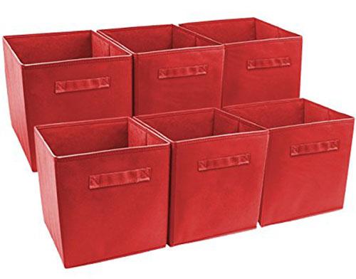 Sorbus Foldable Storage Cube Basket Bin  sc 1 st  TopGuidePro & Top 10 Best Nursery Baskets u0026 Liners in 2018 Reviews