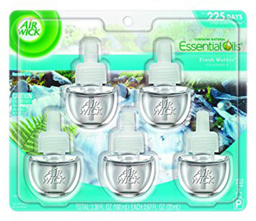 1. Air Wick Scented Oil 5 Refill, Fresh Waters, 3.38 Fl Oz
