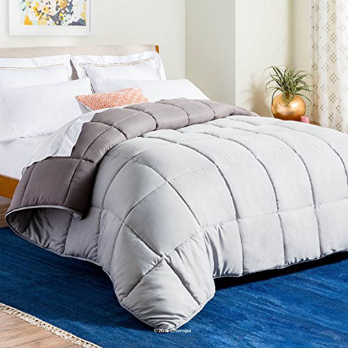 6. LINENSPA Reversible Quilted Comforter
