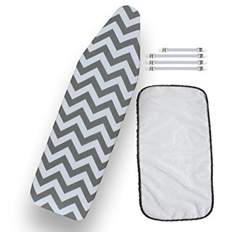 4. Heat Resistant Chevron Style Ironing Cover