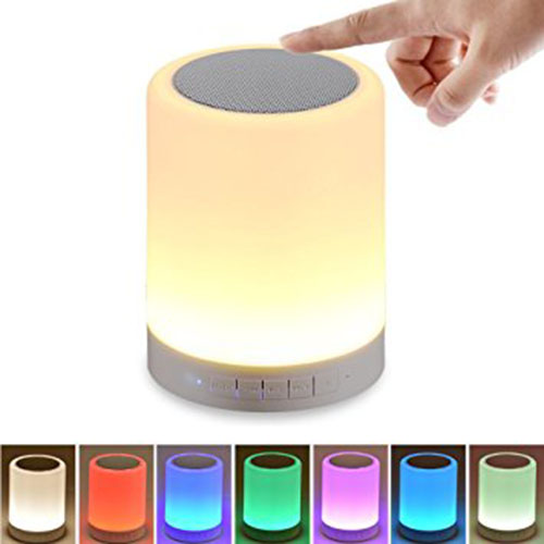 8. Bluetooth Speaker Night Light