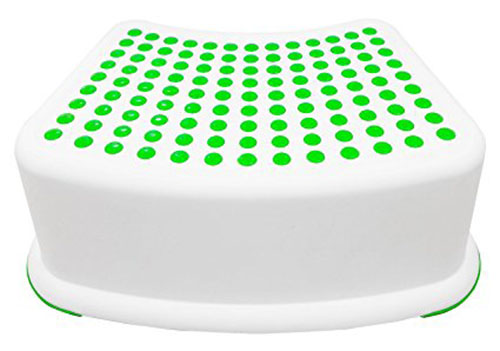 3. Kids Green Step Stool