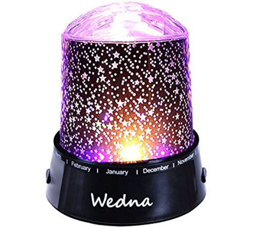 9. Wedna LED Star Baby Nursery Night Light