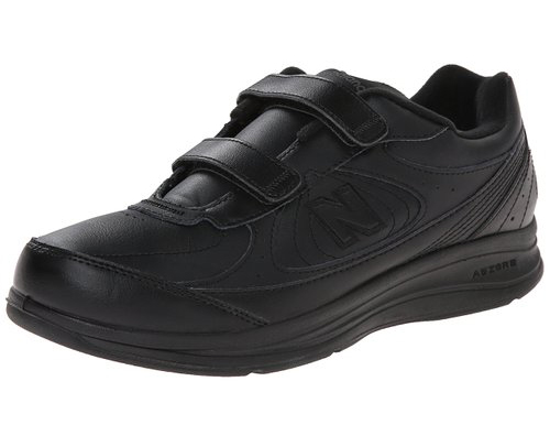 10. New Balance Men's MW577 Walking Shoe (Leather Hook-and-Loop)