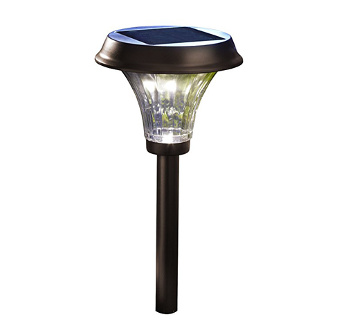 3. Moonrays 91754 Rubbed Bronze Solar LED Light