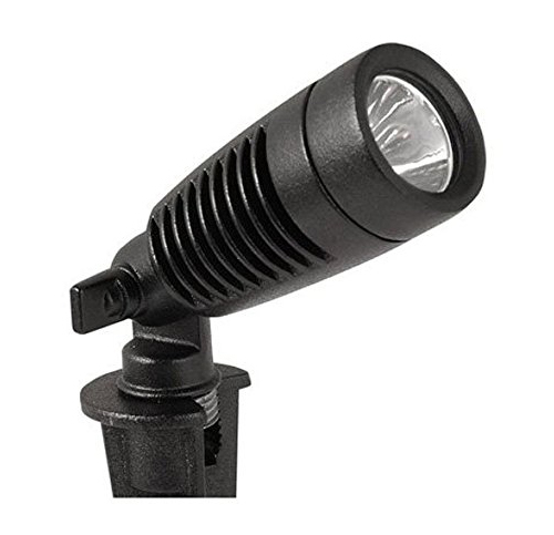 5. Moonrays 95557 Black Landscape Spot Light (Pack of 2)