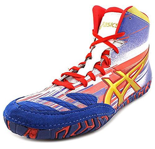 3. Asics Men's Aggressor 2 Wrestling Shoe (Lightning Strike)