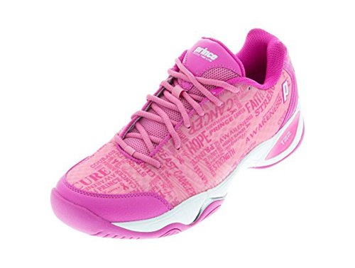 5. Prince Purple/Pink Women's T22 Lite Tennis Shoe
