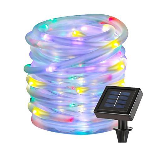 1. Lighting Ever 33ft 100 LED BLUE Rope Lights