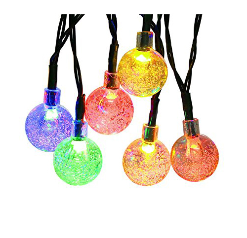 4. APEXPOWER Warm White Outdoor Solar String Lights