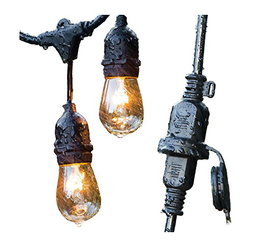 2. ConClarity Outdoor String Lights