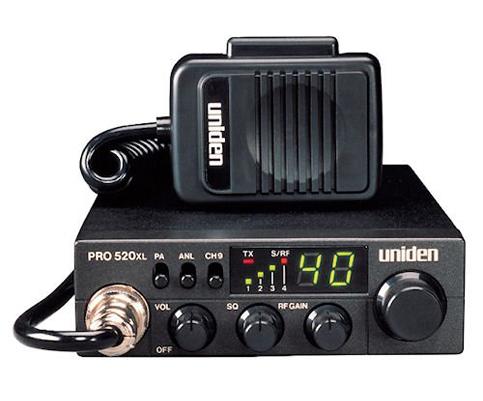 5. Uniden PRO520XL 40-Channel CB Radio
