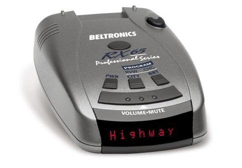 9. Beltronics RX65-Red Radar Detector
