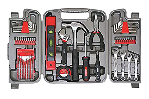 6. Apollo Tools 53-Piece Household Tool Kit