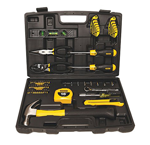 5. Stanley 65-Piece Homeowner's Tool Kit