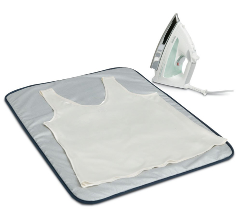 7. Household Essentials Grey Ironing Blanket Mat