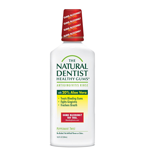 6. The Natural Dentist Healthy Gums Antigingivitis Mouthwash