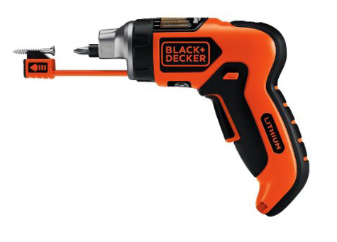 6. BLACK+DECKER LI4000 4V Screwdriver