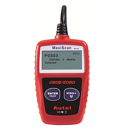 4. Autel MaxiScan MS309 CAN OBD-II Diagnostic Code Scanner