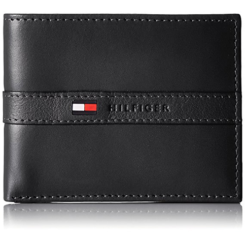 20. Tommy Hilfiger Men's Passcase Wallet