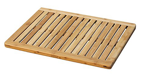 7. Oceanstar FM1163 Bamboo floor and shower mat