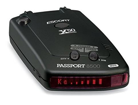 7. Escort Passport 8500X50 Radar Detector