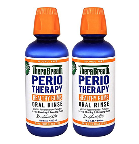 7. TheraBreath PerioTherapy HEALTHY GUMS Oral Rinse