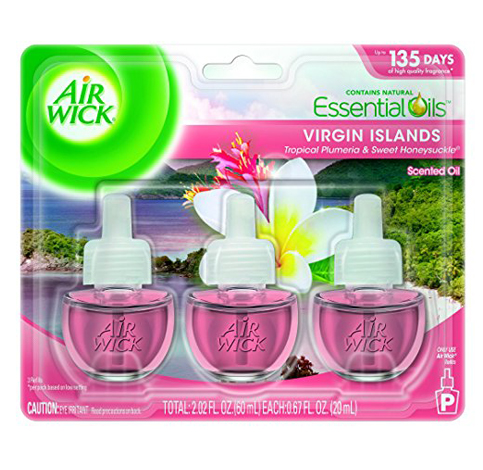 12. Air Wick 2.02 Fl. Oz. 3 Count Air Freshener
