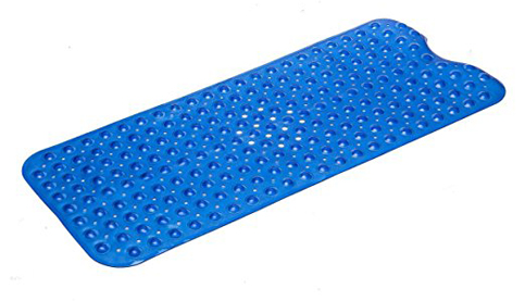9. Simple Deluxe Anti-Bacterial Anti-Slip-Resistant Bath Mat