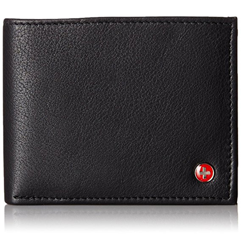 18. Alpine Swiss Mens Flipout ID Wallet