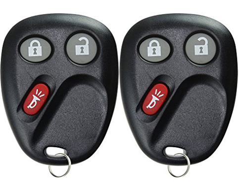 3. KeylessOption Pack of 2 Keyless Entry Remote