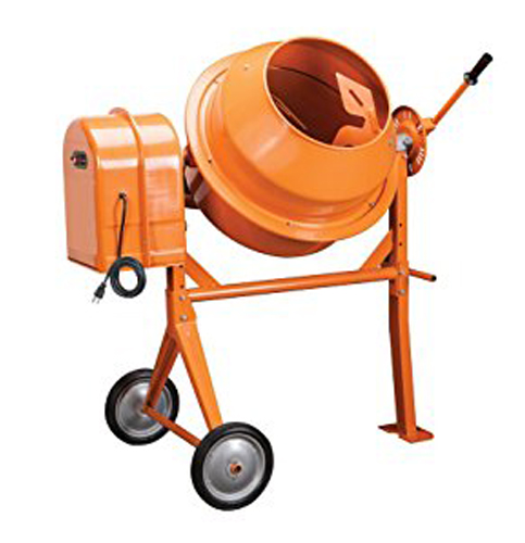 11. Import/Generic 3.5 Cubic Ft Cement Mixer