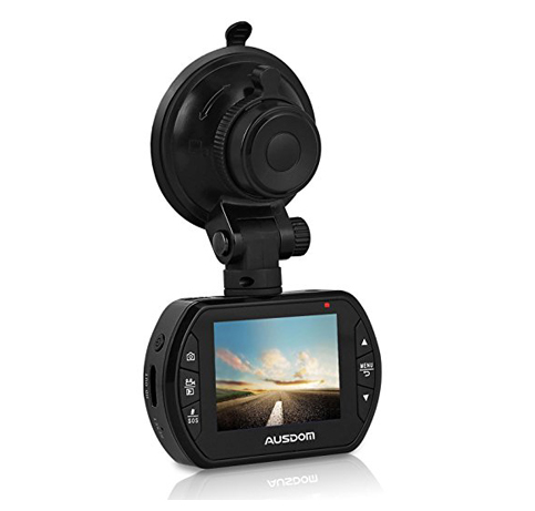 1. AUSDOM Dash Cam AD170 with 1080P FHD 2-Inch