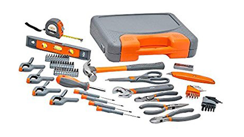 10. HDX 76-Piece Homeowner's Tool Set