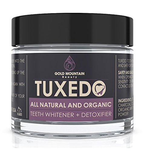 5. Gold Mountain Beauty Tuxedo' Tooth and Gum Powder